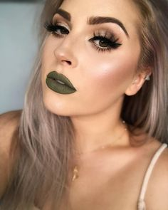 """60cd1ce9d09 Shannon 🐼 #shaaanxo on Instagram: """"I'm so stoked with this lip color 😍  it's @kyliecosmetics ironic 💕 highlight is aurora and lashes are illusion  by ..."""