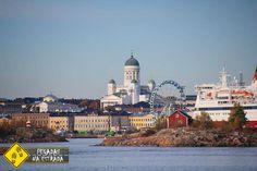 Vista da cidade de Helsinque, Finlândia. Foto: CFR / Blog Pegadas na Estrada.