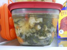 Chicken Soup with Kale