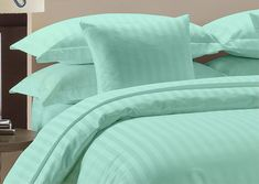 All Bedding Sets Item Choose Size /& Item Peach Stripe 1000 TC Pure Egypt Cotton