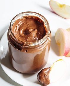 """You are seeking a healthier version of Nutella? This recipe for home made Nutella is paleo friendly and """"clean"""" made with natural ingredients you can find in your pantry. When I found this recipe for Homemade Nutella, I just knew who my first pot would go. I like this recipe for home made Nutella !"""