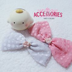 BRAND NEW FROM SOUTH KOREA  Rosy Lovely Ribbon (HKO-13E300)  Colour (Quantity):-  Orange (1); White (1)  Sale 4 U $8 - only payment through Bank Transfer (With FREE SingPost AM Mail within Singapore). You can buy it at our website! More info at http://theaccessories.co/product/hko-13e300  #women #hair clips #korea #new #hand-made #girl #ladies #sweet #elegant #rhodium silver #fabric #orange #white #rose #polka dots #simple #sweet