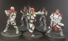 Sedition Wars - Vanguard. not the best pic, but I do like the colour scheme.