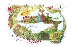 "Cristiana Radu illustration for ""Harap Alb - Romanian Fairytale"". Children's Book Illustration, Painting & Drawing, Childrens Books, Fairy Tales, Folk, Princess Zelda, Graphic Design, Drawings, Thesis"