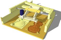 Router Copy Carver // Have a 3d printer and want a CNC router? You might not need one for basic, low res copies.