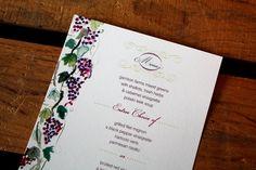 Tuscan Vineyard: Wine Country Wedding Invitation