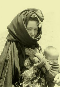 Moroccan woman and child