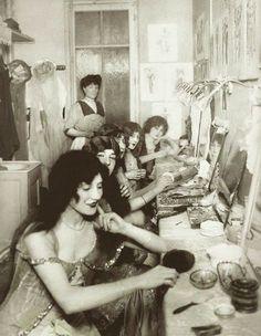 Moulin Rouge Dressing Room, 1924