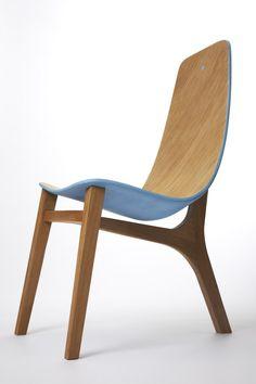 Chaise Baby Blue par Paul Venaille