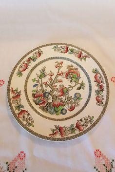 Johnson Bros Indian Tree Dinner Plate Vintage