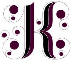 Alphabet 3: K | Daily Drop Cap