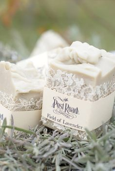 Lavender Milk Soap by postroadvintage on Etsy