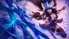 Sivir LoL Snowdown Snow Storm Skin 118