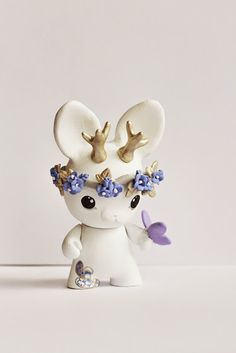 Copy of micro munny jackalope art toy