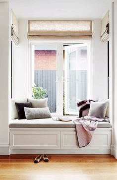 Seating nook with storage