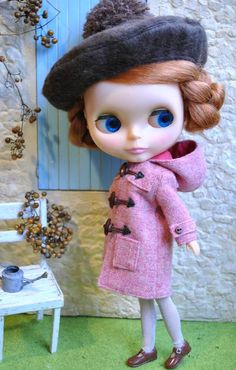 Awesome coat for Blythe