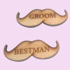 Moustache Badges for groomsmen South Africa - Polkadot Box Lapels, Moustache, On Your Wedding Day, Groomsmen, Wedding Accessories, Badges, South Africa, Polka Dots, Bridal