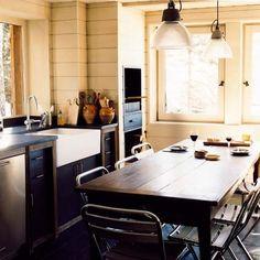 35 Cocinas Grandes, Modernas y fácil de usar