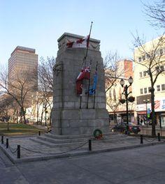The Gore Park Cenotaph