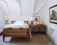 Simply country bedroom
