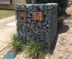 Gabion Mail Box - Gabion1 UK