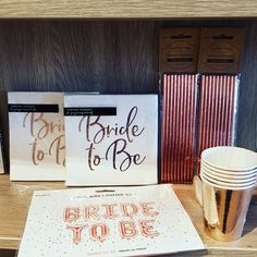 Bride-to-be Party in rosegold. Handmade Wedding Decorations, Save The Date Invitations, Paper Straws, Party Time, Rose Gold, Bride, Creative, Instagram, Diy Wedding Decorations