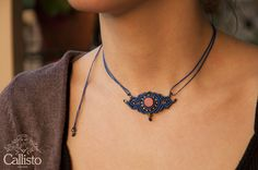 Those little necklaces were created knot by knot with the macrame technique :)The elements I used are a Red Coral semiprecious stone, Copper Beads & Waxed threads.Waxed threads are light and comfortable. They do not create any allergies or loose their color. Also they are waterproof.The length is adjustable.If you have any questions or need Information please contact us!           find them on our esty store: https://www.etsy.com/listing/274050992/coral-macrame-necklace-ethni...