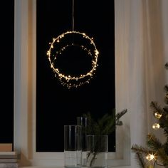 Light Fittings, Light Fixtures, Ikea Family, How To Make Lanterns, Luminous Flux, Ring Shapes, Incandescent Bulbs, Lamp Bases, Indoor Christmas Decorations