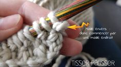 DIY Snood Point de riz - http://tisser-patisser.com/tricoter-un-snood-au-point-de-riz-diy/