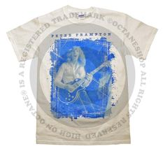 Peter Frampton Guitar Photo T-Shirt