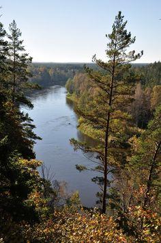 Neris River, Lithuania