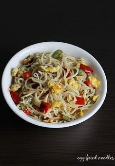 Egg recipes - Collection of 52 anda recipes - Swasthi's Recipes Egg Recipes For Dinner, Healthy Dinner Recipes, Indian Food Recipes, Healthy Snacks, Ethnic Recipes, Chinese Recipes, Lunch Recipes, Asian Noodle Recipes, Curry Recipes