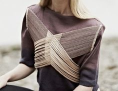 jessica leclare via imrevolting Textiles, Fashion Details, Fashion Design, Fashion Trends, Design Textile, Style Japonais, High Fashion, Womens Fashion, Fashion Fashion