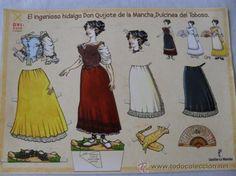 Coleccionismo Recortables: RECORTABLE EL INGENIOSO HIDALGO DON QUIJOTE DE LA MANCHA - Foto 2 - 32284876