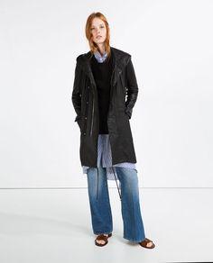Image 1 of LONG PARKA from Zara
