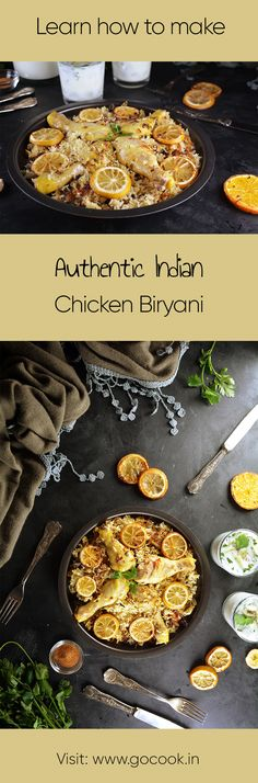 Learn how to make authentic Indian Chicken Biryani with this easy to follow recipe!