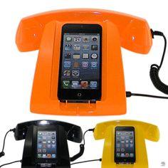 SUPORTE PARA IPHONE 5 SUPORTE CELSuporte para celular iPhone 5 com fone preto - 12 x 22 x 16 cm