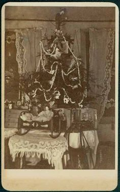 Christmas Tree 1870  Collections Online : mnhs.org
