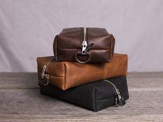 Leather Bathroom Bag