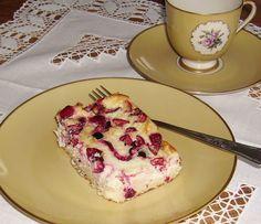 Mia's Glutenfreie Gaumenfreuden: Gluten und mehlfreier low-carb Cranberry-Cheesecake