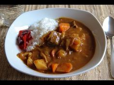 Curry and Rice Recipe - Japanese Cooking 101 - YouTube