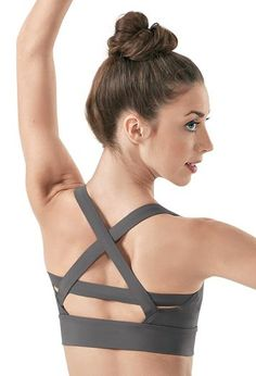 Cute Strappy Back Crop Top - Balera