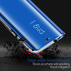 Smart Mirror Flip Phone Case For iphone X 8 7 Plus Luxury Leather Cover coque For funda iphone XS Max XR SE accessories Flip Phones, Flip Phone Case, Window Mirror, Mirrors, Window View, Samsung Galaxy S9, Galaxy S7, Samsung S9, Galaxy Note