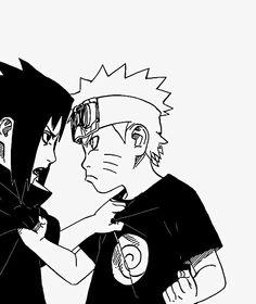 Sasuke&Naruto #Naruto