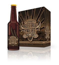 Brewing Co. Package Design by Tara Marintzer, via Behance