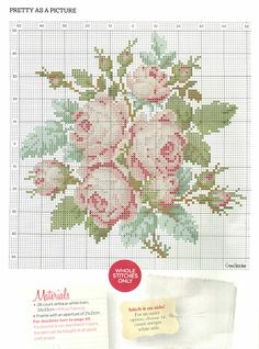 'Pretty as a picture' from Cross Stitcher No. 235, February 2011