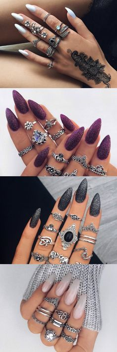 New year 2017 has begin, Now its time to upgrade your fashion game. Hence we bring you hottest nail design ideas.  #Nail #Design #2017