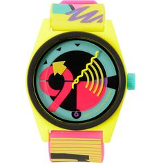 The Neff Daily Wild Loco yellow analog watch http://www.zumiez.com/neff-daily-wild-loco-yellow-analog-watch.html
