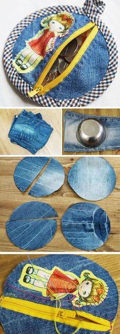 15+ Ideas Creativas para Reciclar Jeans Viejos