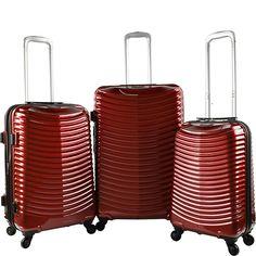 Travelers Club Luggage Orion 3PC Hardside Expandable Spinner Luggage Set - eBags.com